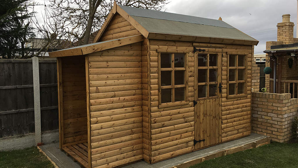 Garden storage falconsheds essex pic1